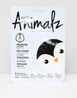 MasqueBAR - Pretty Animalz – Penguin – Tuchmaske-Keine Farbe