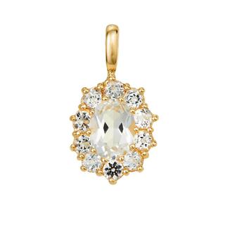 BELORO - Halskette - Pendant Topaz  Yellow Gold - in gelbgold - für Damen