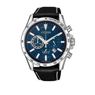 Citizen - Uhr - Titanium Wristwatch Black - in blau - für Damen