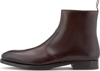 Ludwig Görtz - Klassik-Stiefel in mittelbraun, Business-Schuhe für Herren