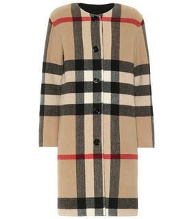 Burberry - Mantel aus einem Wollgemisch