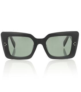 Celine Eyewear - Rechteckige Sonnenbrille S156