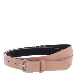 Calvin Klein - Gürtel - Round Buckle Belt 20Mm Charms Dusty Rose - in rosa - für Damen