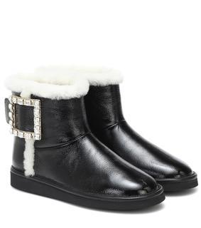 Roger Vivier - Ankle Boots Viv Snow Strass