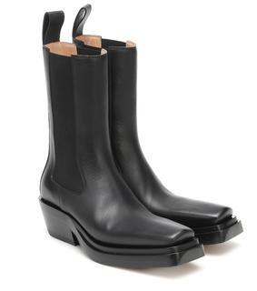 Bottega Veneta - Ankle Boots BV Lean aus Leder
