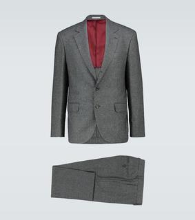 Brunello Cucinelli - Anzug aus Wolle und Seide