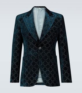 Gucci - Sakko GG aus Samt