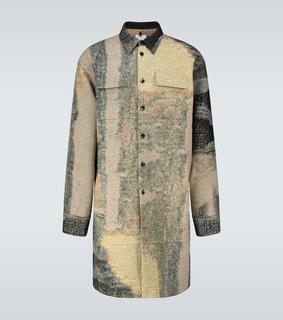 OAMC - Bedruckte Hemdjacke aus Wolle