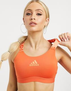 adidas Performance - adidas Training – BH in Orange-Rot