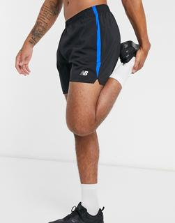 new balance - Running Accelerate – 5-Zoll-Shorts in Schwarz-Grau