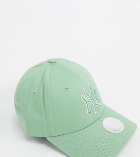New Era - 9Forty – Exklusive Kappe in Mintgrün mit farblich abgestimmtem NY-Umriss