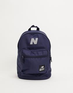 new balance - Rucksack mit Logo in Blau