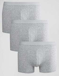 New Look - Graue Unterhosen, 3er Pack