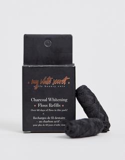 My White Secret - Biologisch abbaubare Zahnseide aus Kohle (Nachfüllpackung)-Keine Farbe