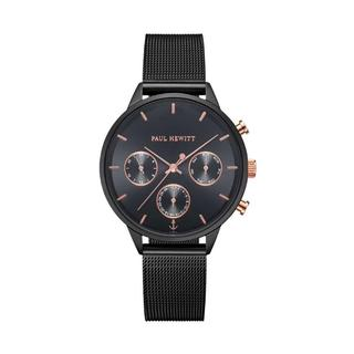 Paul Hewitt - Uhr - Watch Everpulse Line Black Sunray Rosegold - in schwarz - für Damen