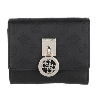guess - Portemonnaie - Ninnette Small Trifold Wallet Black - in schwarz - für Damen