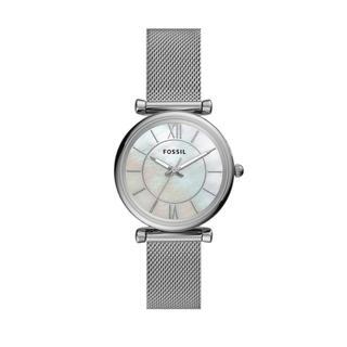Fossil - Uhr - Carlie Watch Silver - in silber - für Damen