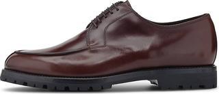 Franceschetti - Plange T. Moro Fod. Shearling in dunkelbraun, Business-Schuhe für Herren