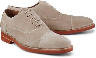 Lottusse - Oxford-Schnürschuh in beige, Business-Schuhe für Herren