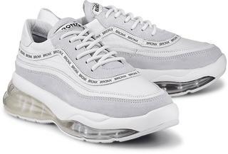 Bronx - Chunky-Sneaker Bubbly in weiß, Schnürschuhe für Damen