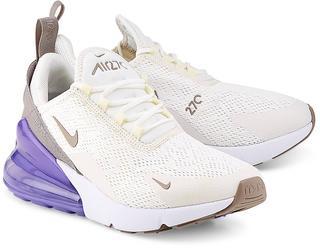 Nike - Sneaker Air Max 270 in cremeweiß, Schnürschuhe für Damen