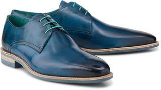 Melvin & Hamilton - Schnürschuh Lance 24 in mittelblau, Business-Schuhe für Herren