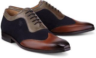 Melvin & Hamilton - Schnürer Rico 8 in dunkelblau, Business-Schuhe für Herren