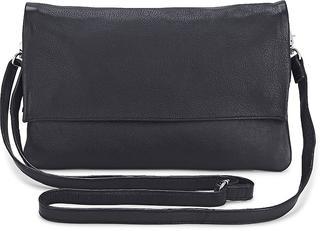 COX - Leder-Clutch in schwarz, Clutches & Abendtaschen für Damen