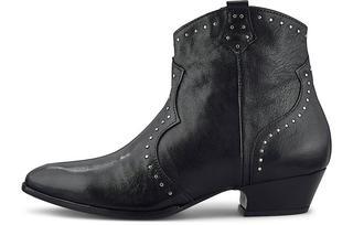 Curiosité - Western-Boots in schwarz, Stiefeletten für Damen