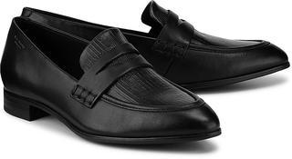 Vagabond - Loafer Frances in schwarz, Slipper für Damen