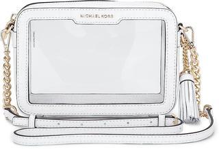 MICHAEL KORS - Tasche Md Camera Bag in weiß, Umhängetaschen für Damen - 195.00 €