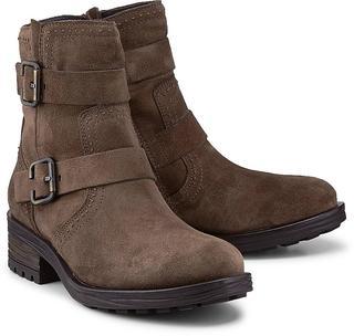 Paul Green - Biker-Boots in taupe, Stiefeletten für Damen