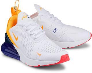 Nike - Sneaker Air Max 270 in weiß, Schnürschuhe für Damen