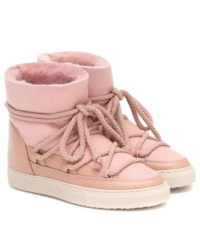 Inuikii - Ankle Boots mit Shearling