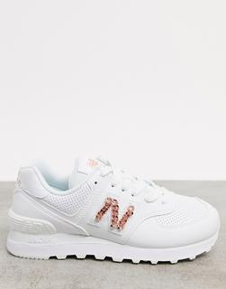 new balance - 574 Chain Reaction – Sneaker in Weiß