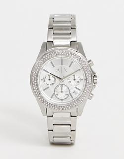 Armani Exchange - AX5650 Drexler – Armbanduhr, 38 mm-Silber
