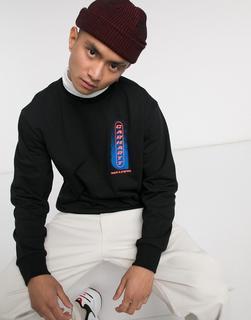 Carhartt WIP - Ninety – Schwarzes Sweatshirt