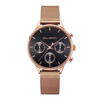 Paul Hewitt - Uhr - Watch Everpulse Line Black Sunray Rosegold - in roségold - für Damen