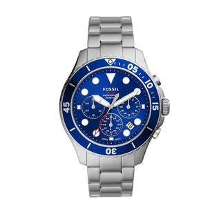 Fossil - Uhr - FB - 03 Men Watch Silver - in blau - für Damen
