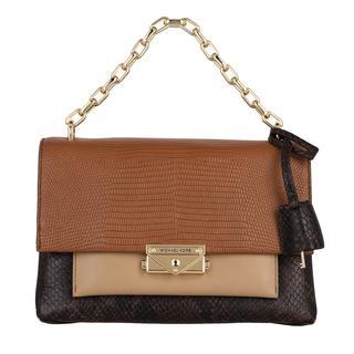 MICHAEL KORS - Satchel Bag - Medium Chain Shoulder Bag Luggage Multi - in braun - für Damen - 383.00 €