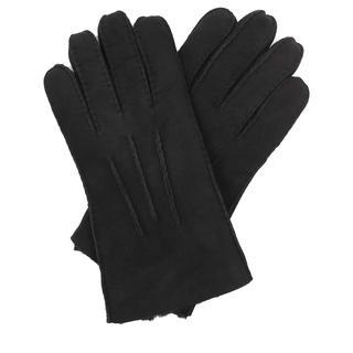UGG - Handschuhe - Men Contrast Sheepskin Tech Gloves Black - in schwarz - für Damen