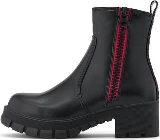 Buffalo - Platform-Stiefelette Mazie in schwarz, Stiefeletten für Damen