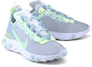 Nike - Nike React Element 55 in hellgrau, Sneaker für Damen