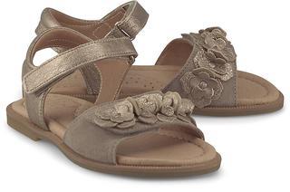 Clic - Klett-Sandale in gold, Sandalen für Mädchen