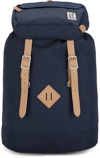 The Pack Society - Premium Backpack in dunkelblau, Rucksäcke für Damen