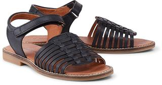 Bundgaard - Klett-Sandale Lotta in schwarz, Sandalen für Mädchen