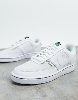 Nike - Court Vision – Sneaker in gebrochenemWeiß