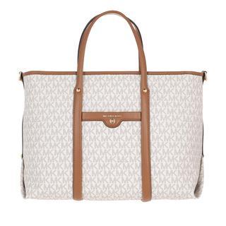 MICHAEL KORS - Tote - Medium Convertible Tote Bag Vanilla/Acorn - in weiß - für Damen - 227.00 €