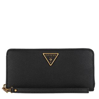 guess - Portemonnaie - Destiny Large Zip Around Wallet Black - in schwarz - für Damen