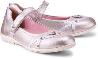 LICO - Ballerina Mona V in rosa, Halbschuhe für Mädchen